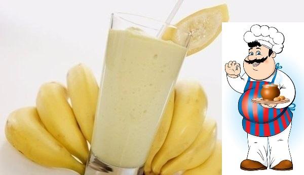Заряд бодрости - коктейль После него не хочется есть, очень долгое время. <strong>Приготовление:</strong> Готовить его очень просто, один банан взбить в блендере со стаканом молока, можно добавить еще ст. ложку»/></div> <p>После него не хочется есть, очень долгое время. <br /><strong>Приготовление:</strong> <br />Готовить его очень просто, один банан взбить в блендере со стаканом молока, можно добавить еще ст. ложку овсяных хлопьев или ч. ложку какао порошка, но это уже на усмотрение каждого. <br />Быстрый, низкокалорийный и вкусный завтрак.</p><div> <div id=