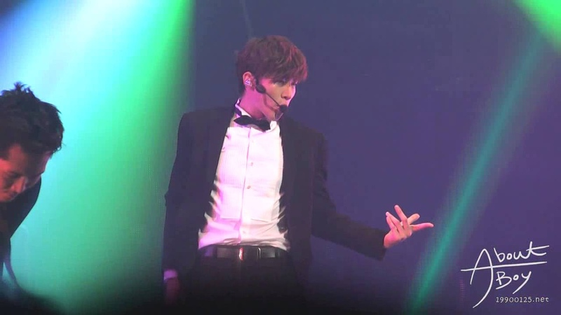 [FANCAM] 130621-22 JUNHO at What Time Is It Concert in Seoul - Im in Love