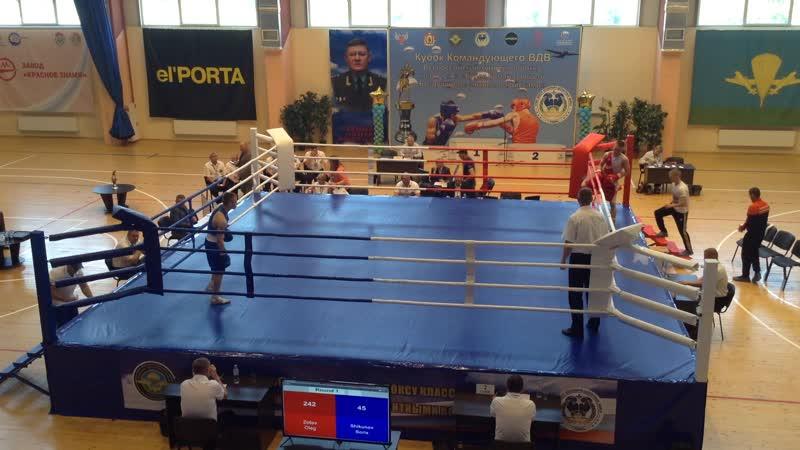 однавосьмая Кубка Командующего ВДВ по боксу в Рязани 22 мая 2019 года