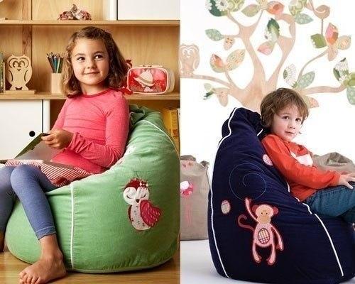 Materiales gr ficos gaby con tus manos puff sillones rellenos moldes y costura - Rellenos para sillones ...