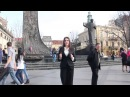 «Молоді регіони Львівщини» здійняли до неба два найбільші прапори ЄС та України»