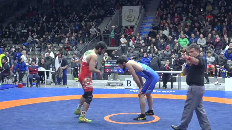 Хасан Яздани Иран Ахмед Магамаев Болгария 10 0
