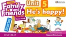 FAMILY AND FRIENDS STARTER UNIT 5 HE IS HAPPY