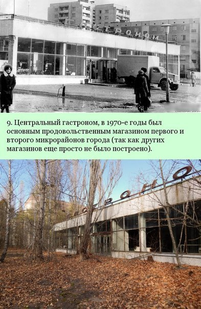 Припять: До и после