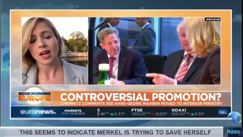 Maaßen After Reporting No Hetzjagd In Video Is Promoted - Merkel Trying To Save Coalition-