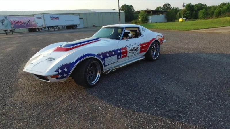 Kyle Tucker 1972 Corvette