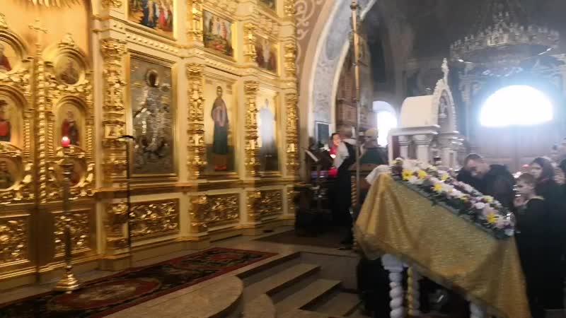 Игумен Варнава и хор Дмитриевского мужского монастыря Блажен муж
