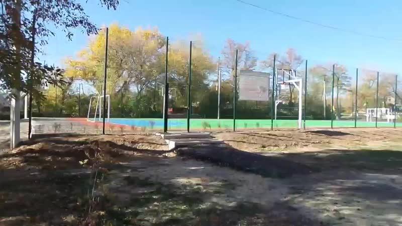 Новая площадка в мкр. Лиховском под замком!