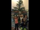 Моя дочка поёт под новый 2018 год