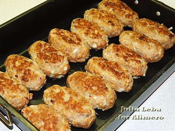 Шницель с фарша рецепт пошагово