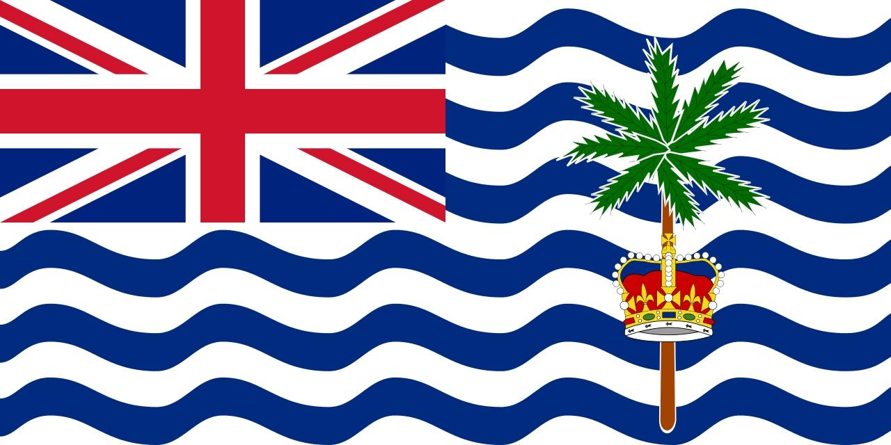 Флаг Британская территория в Индийском океане