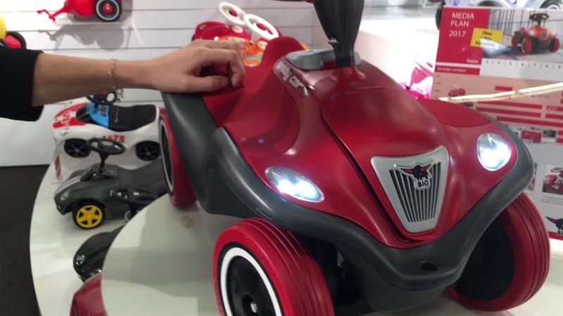 Spielwarenmesse Nürnberg 2017 BIG Bobby Car Next