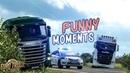 Euro Truck Simulator 2 Multiplayer Funny Moments Crash Compilation 105
