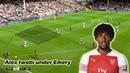 Alex Iwobi's Role under Unai Emery Tactical Analysis