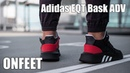 ONFEET Adidas EQT Bask ADV Black\Red (AQ1013) Review  