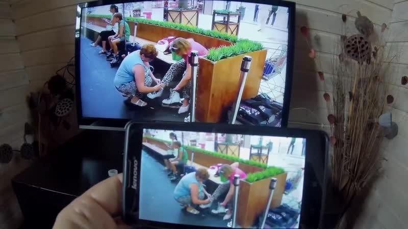 тест передачи видео 1920x1080@50 через Mirascreen