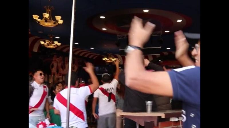 Перуанские болельщики в Екатеринбурге