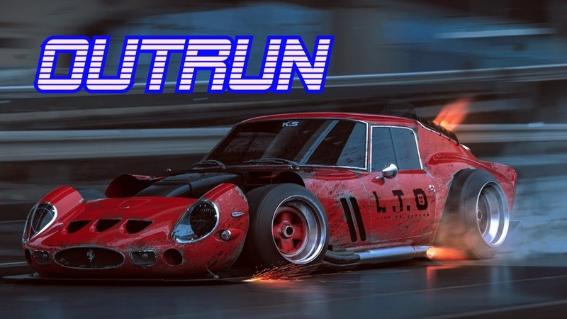 'OUTRUN'   Best of Synthwave And Retro Electro Music Mix for 1 Hour   Vol. 4