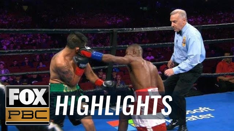 Guillermo Rigondeaux beats the bell with 1st round KO of Giovanni Delgado HIGHLIGHTS PBC ON FOX