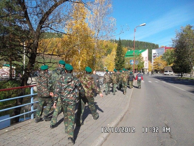 Бийские кадеты впервые на экскурсии в Белокурихе