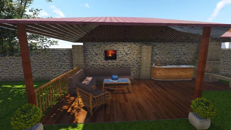3D визуализация дома lumion archicad