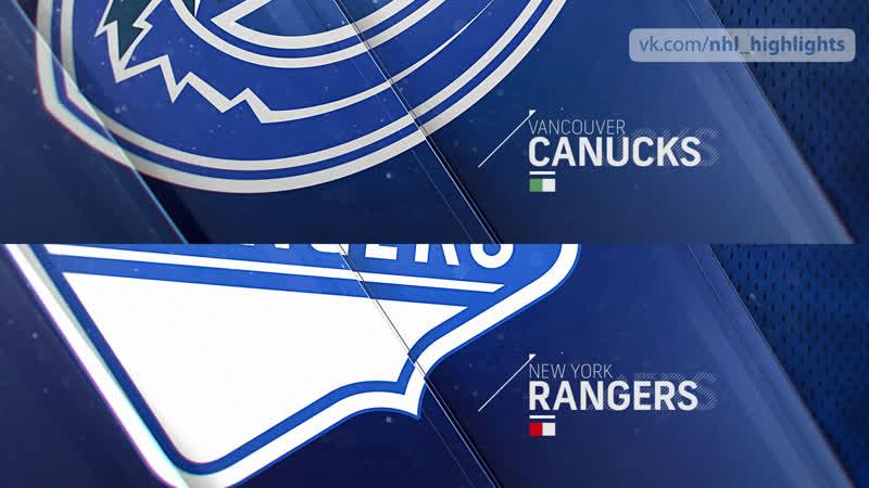 Vancouver Canucks vs New York Rangers Nov 12, 2018 HIGHLIGHTS HD