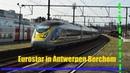 Eurostar 4005/4006 komt door Antwerpen Berchem