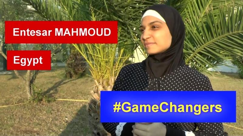 Самбистка из Египта Энтезар Махмоуд - Кампания ФИАС GameChangers