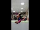 Фрагмент тренировки по стретчингу Работа над складочкой и разработка суставов на поперечный шпагат вариация 24