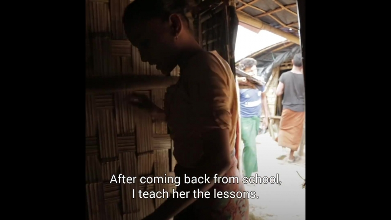 The power of friendship in a Rohingya refugee camp