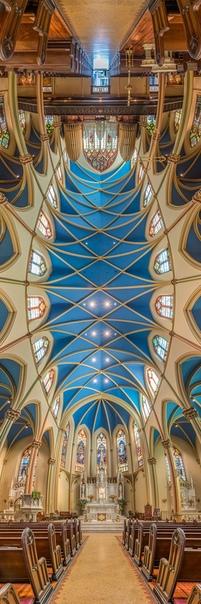 Подборка панорамных фото церквей Нью-Йорка.