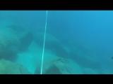 Мой первый заплыв с аквалангом.