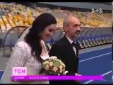 Анастасия Иванова создала свадебное платье Соломии Витвицкой