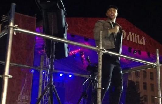 Крида раскритиковали после удара девушки на концерте в Коломне