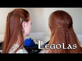 Lord of the Rings Hair Tutorial for Men - Legolas
