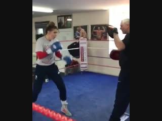 🎬Когда девушки в боксе не слабый пол 🥊
