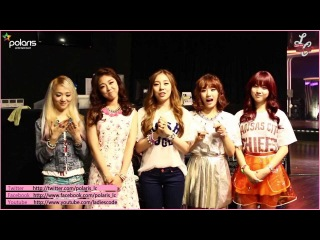 LADIES' CODE OFFICIAL GREETING (ENGLISH)