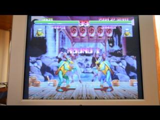 Test play - Blood Warrior Arcade (Pandora box 4)