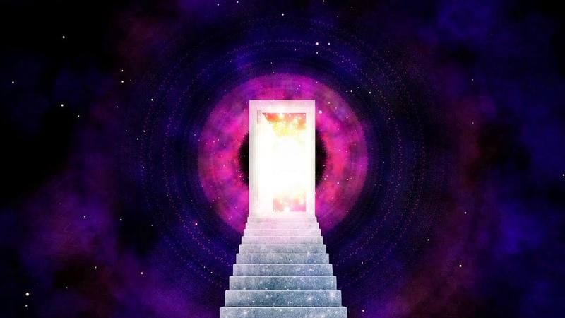 OPEN NEW DIMENSIONS⎪Theta Brainwaves 💫 8hz 372hz 🌈 Universal Root Chakra Music