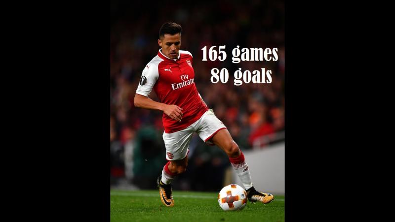 Алексис Санчес все голы за Арсенал (80 голов за 165 игр) Alexis Sanchez ALL 80 Goals for Arsenal