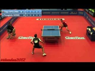 Tiago Apolonia vs Gionis Panagiotis (European Championships 2013) (1/4 Final)