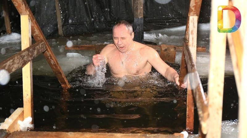 Как Долгопрудный отметил Крещение Новости Долгопрудного