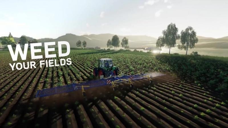 Farming Simulator 19 _ Harvesting Crops Gameplay Trailer