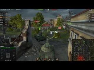 World of Tanks ~ командный бой 7/42 от клана SQUAD ~ карта Энск