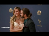 Heidi Klum and Tom Kaulitz at the 70th Emmy Awards