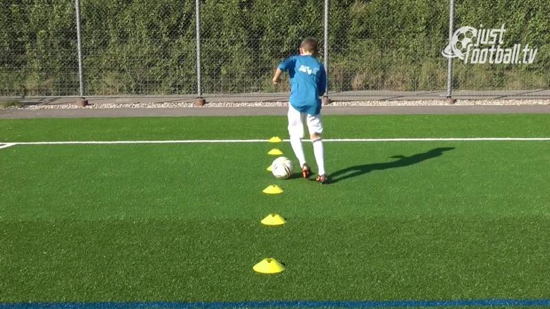 Fussballtraining_ Die 6er-Reihe Teil 2 - Ballkontrolle - Technik