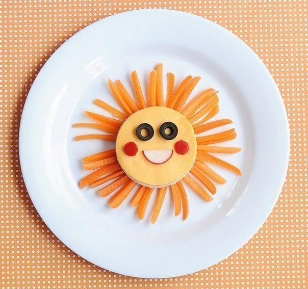 Идеи оформления детских блюд (8 фото) - картинка