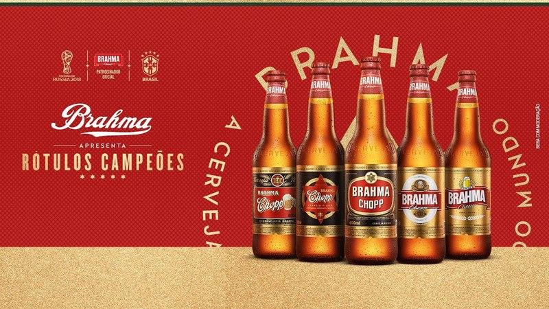 Os Rótulos Campeões da Brahma voltaram