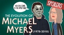 Evolution Of Michael Myers 1978 2018 Animated