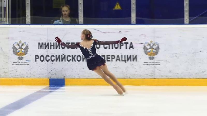 Софья Муравьева Первенство России МВ 2019 Дeвушки ст ПП